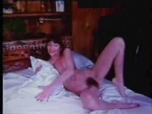 Explicit masturbation scene