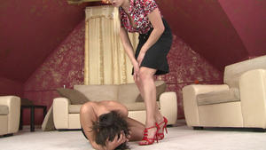 Hunt Erotic: Hairpulling Girls -By Domina Lea Lexis And Her Slave Blanka Hot FULL