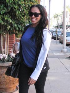 ЛаЛа Васкес, фото 51. La La Vazquez Leaving a workout in Beverly Hills - January 4, 2011, foto 51