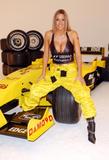 Джоди Марш, фото 7. Jodie Marsh Formula One - Shoot, photo 7