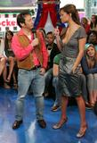 Vanessa Minnillo & Rob Schneider @ TRL April 6, 2006