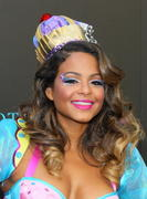 Christina Milian - HPNOTIQ Liqueur Halloween Recipe Launch in Hollywood 10/26/12