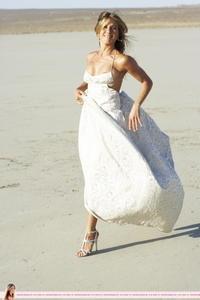 Jennifer Aniston oops nip slip Bazaar